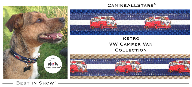 CanineAllStars_Retro VW Camper Van Collection